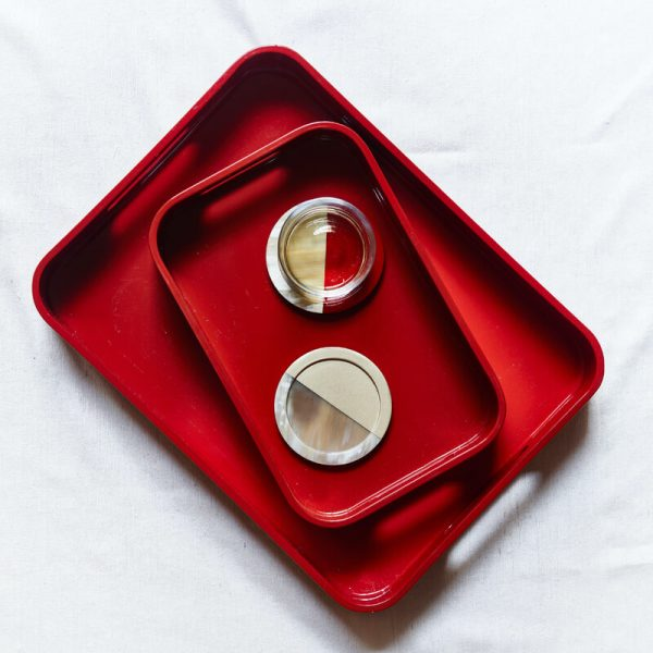 Lacquer Tray Red