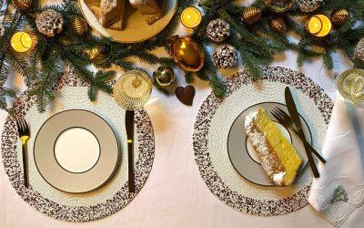 Christmas Table Setting Three Ways