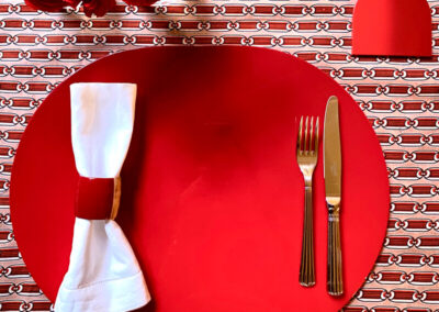 Ombre Oval Placemat
